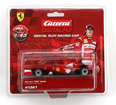 "Carrera Digital 143 Ferrari 150 Italia ""Fernando Alonso, No.5"" from Carrera"
