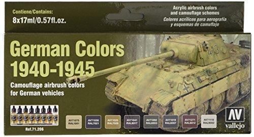 Vallejo Model Colour - Vallejo 1940-1945 German Colors Model