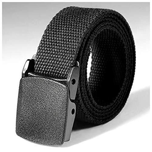 KOKOBUY Tactical Adjustable Survival Solid Nylon Outdoor Waist Belt Canvas Belt