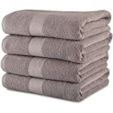 Best Bath Towels Quick Dries - Maura Premium 100% Cotton 27x54 Ultra Absorbent Quick Review