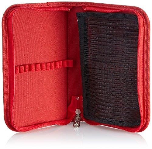 4YOU Zusatztasche Stifteetui, Ungefüllt Pink (Chili) 16560160000