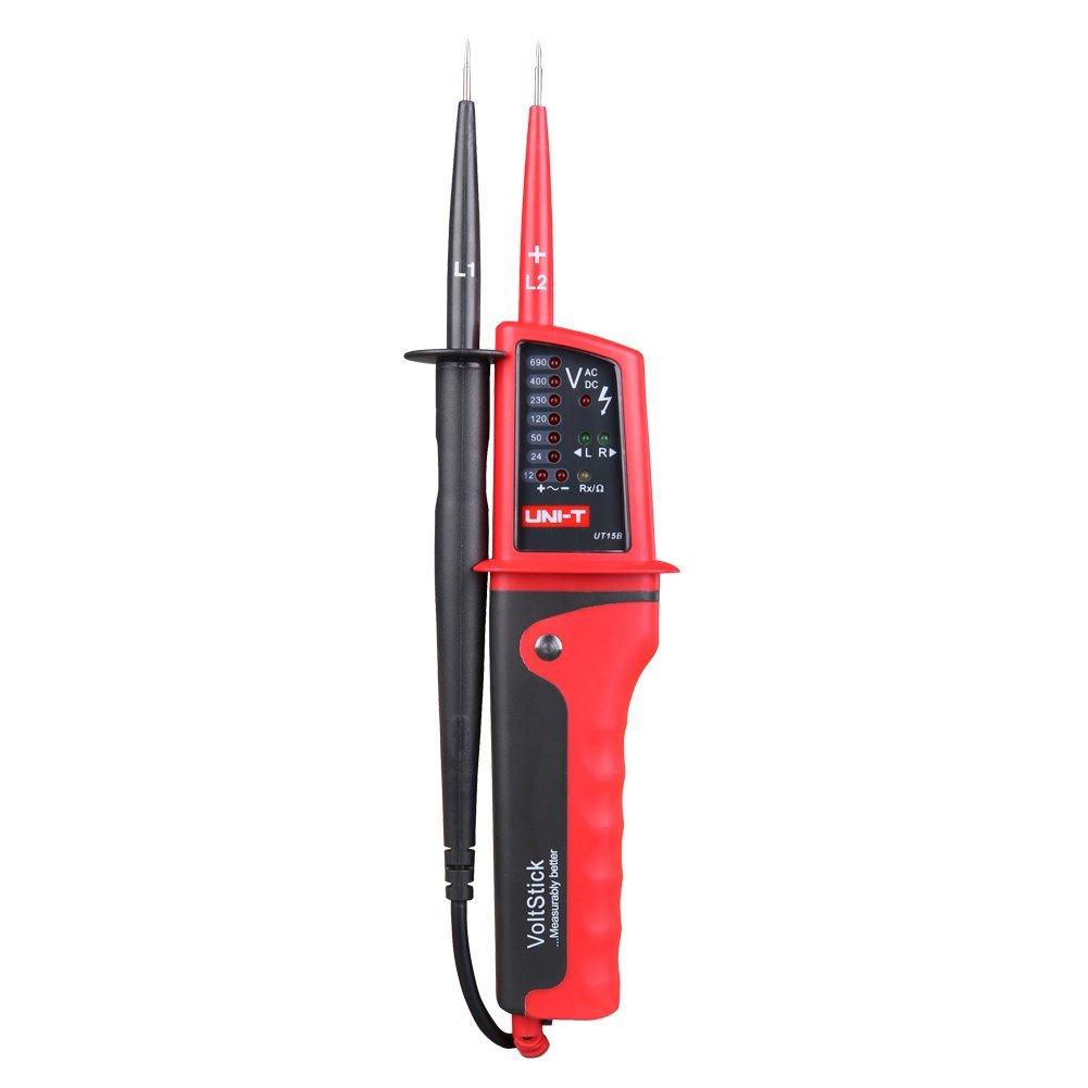 UNI-T UT15B LED voltage tester pen Automatic Volt Tester Pen AC DC Voltmeter 0-690V