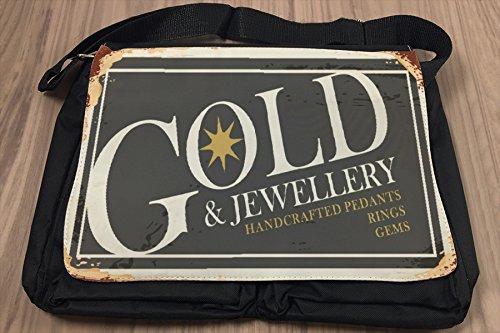 Borsa Tracolla Divertimento Oro e gioielli Stampato