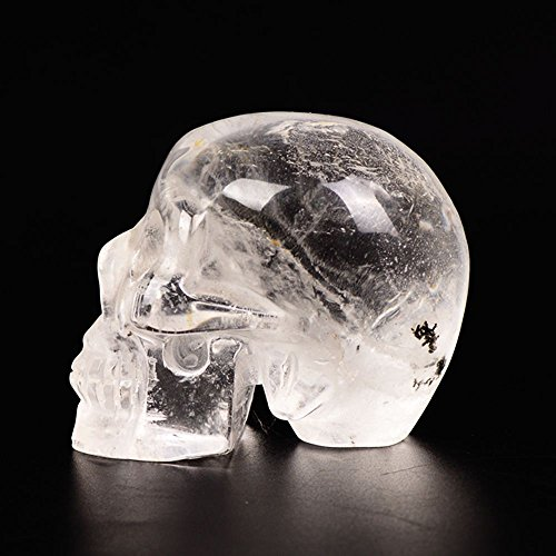 yujianni Quartz Crystal Skull Healing Crystal Stone for sale  Delivered anywhere in USA