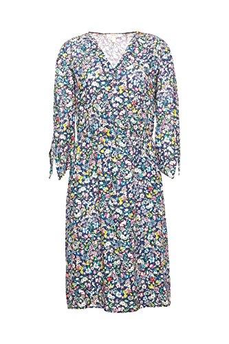 ESPRIT Navy Mehrfarbig 400 Kleid Damen AaAqw81v