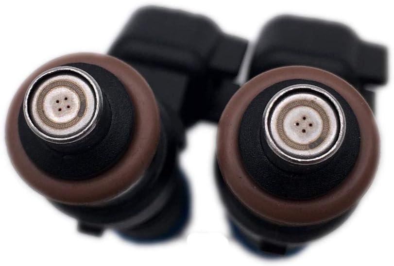 ALLMOST ALLMOST 2PCS Fuel Injector Harness Set Fit for Polaris Ranger XP Ranger Crew RZR 800 1204318 1204319 0280158197 SET