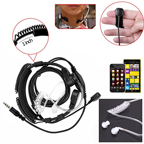 ACAMPTAR 3.5mm Stereo Headset Earphone Headphone with Microphone for Laptop