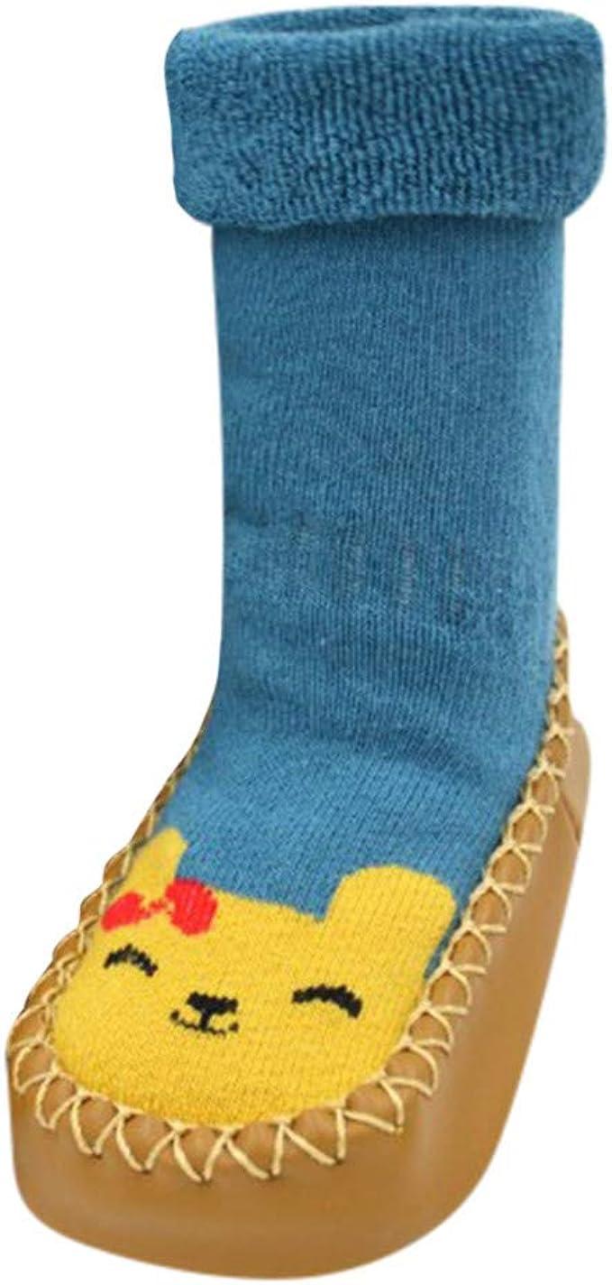 Primeros Pasos Bebe Calcetines Calzado Zapatos de Antideslizante para Recien Nacido Niño Niña: Amazon.es: Ropa y accesorios