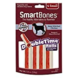 Smartbone DoubleTime Chicken Dog Chew FamilyValue 2Pack (Small-4Pieces)-FAh