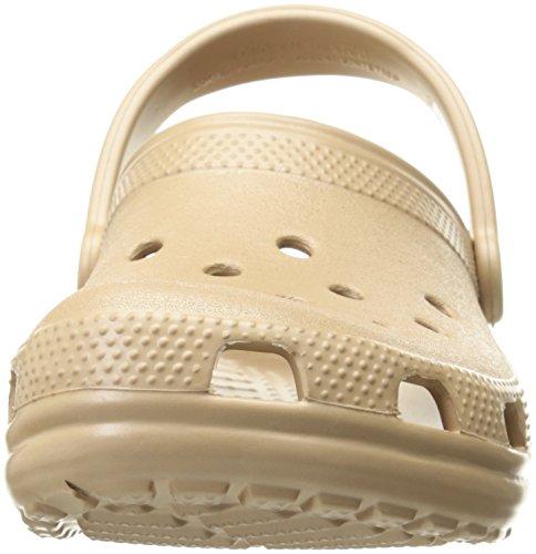 Crocs Classic, Mixte Adulte Sabots, Or (Gold), 43-44 EU
