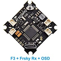 BETAFPV F3 V1.1 Brushed Flight Controller Integrated with OSD and Frsky Receiver (SBUS)