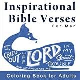 Inspirational Bible Verses for Men: Coloring Book for Adults with Scriptures
