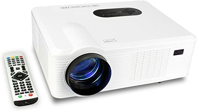 Mileagea HD Proyector LCD LED Full Color 720p 3000 Lúmenes ...