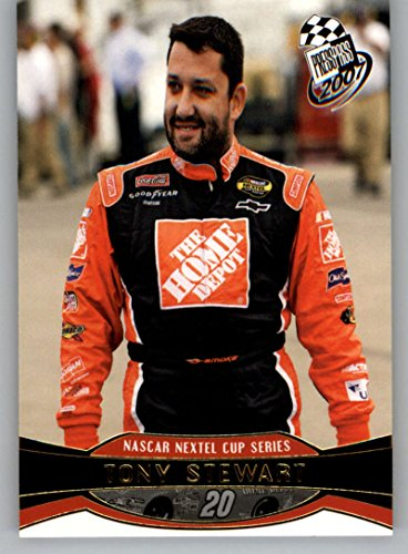 Tony Stewart 2007 Press (2007 Press Pass Gold #G11 Tony Stewart NM-MT)