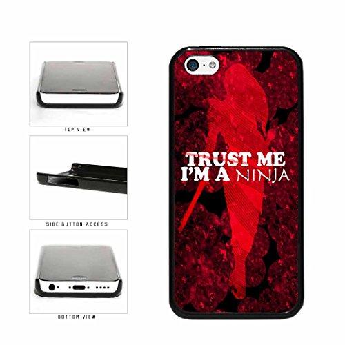 BleuReign(TM) Trust Me I'm A Ninja Woman Plastic Phone Case Back Cover Apple iPhone 5c