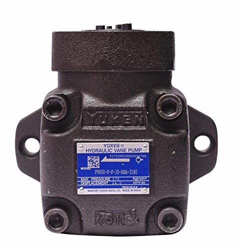 Yuken Fixed Displacement Hydraulic Vane Pump PVR50-F-F-30-RAA-3180 by YUKEN (Image #2)