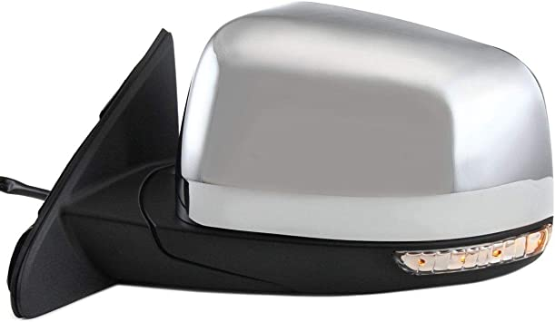 NEW OEM LH LEFT DRIVER SIDE BLACK EXTERIOR REAR VIEW MIRROR COVER 11-17 EXPLORER