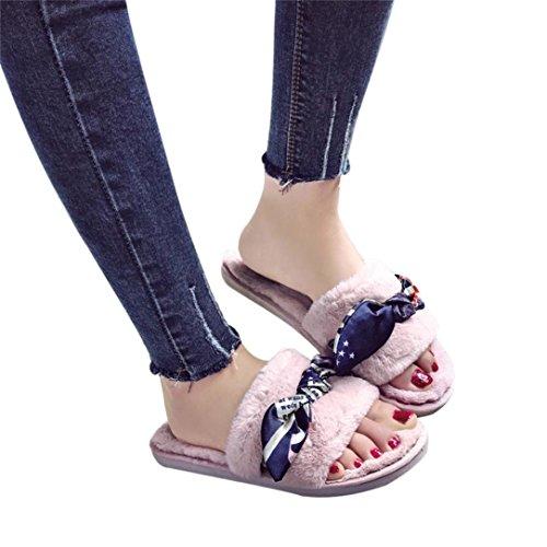 Fiasco Doux Confortable Sandales Appartement Des Aux Famille Femmes Fourrure Chaussures Duveteux Flip Peluche Pantoufles Somesun Faux Pantoufle Chaussons Kaki YqOHpYx