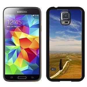 New Beautiful Custom Designed Cover Case For Samsung Galaxy S5 I9600 G900a G900v G900p G900t G900w With Tuscany Landscape Phone Case