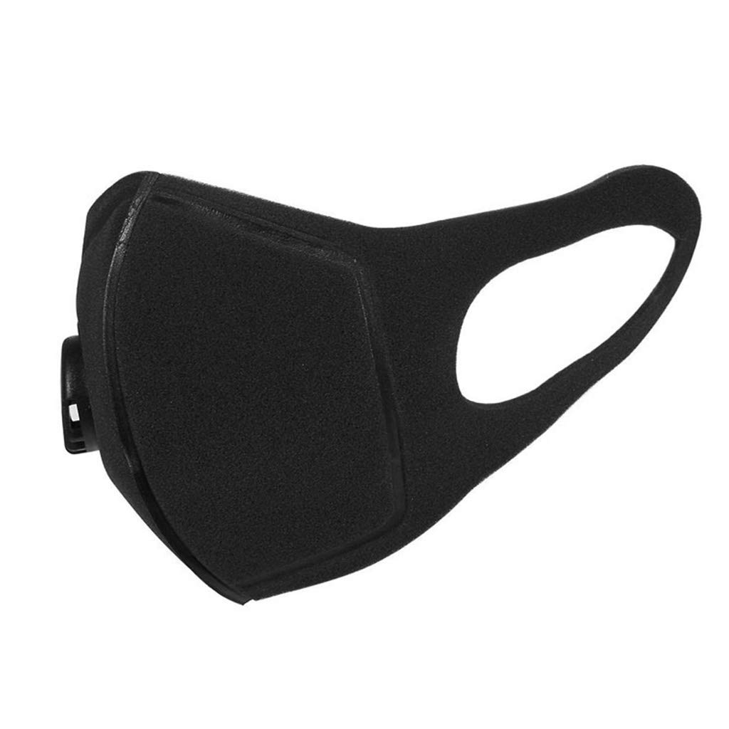yangerous Black Unisex Anti Dust PM2.5 Mouth Mask Reusable Washable Muffle Respirator for Men and Women