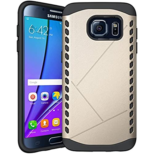 S7 Case / Galaxy S7 Case,DIOS CASE(TM) Inner Rubber Shield with Outer Hard Plastic 2 in 1 Dual Layer Hybrid High Sales