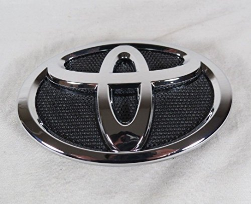 - Toyota Corolla Front Emblem 09-13 Grille Bumper Badge Chrome Grill Sign Symbol Logo