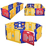 Best Baby Play Gates - JAXPETY Baby Playpen Kids 8 Panel Safety Play Review