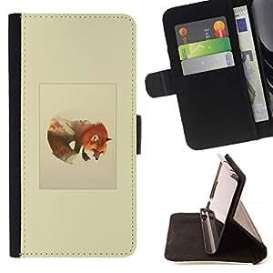 Momo Phone Case / Flip Funda de Cuero Case Cover - Montañas del lobo;;;;;;;; - Samsung Galaxy S5 Mini, SM-G800