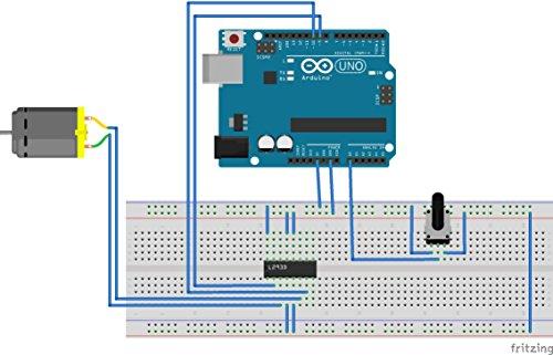 10pcs L293D DIP 16-pin IC Stepper Motor Drivers Controllers