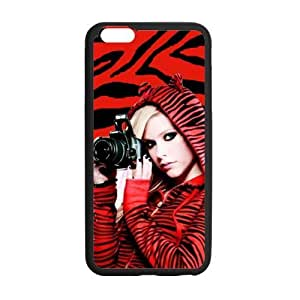 Generic High Quality Celebrity Avril Lavigne Plastic and TPU Cell Phone Cases for iPhone 6 case (5.5 inch)