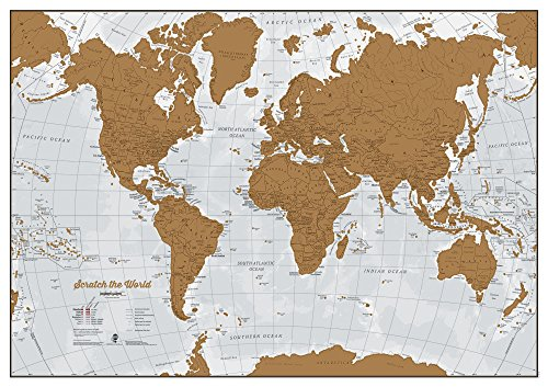 Top best 5 scratch world map for sale 2016 boomsbeat click photo to check price gumiabroncs Choice Image