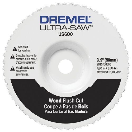 Dremel US600-01 Ultra-Saw 4-Inch Wood Flush Cut ()