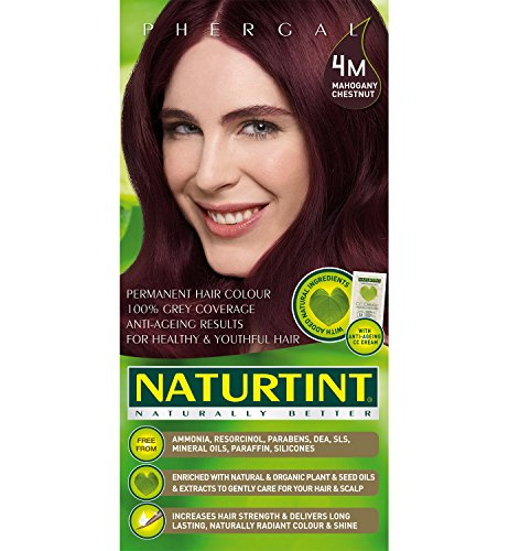 - Naturtint Permanent Hair Color 4M Mahogany Chestnut -- 5.28 fl oz