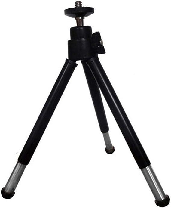 Webcam Stativ Mini Stativ Aus Aluminiumlegierung Mit 1 4 Gewinde Kompatibel Mit Logitech C920 C920e C925e