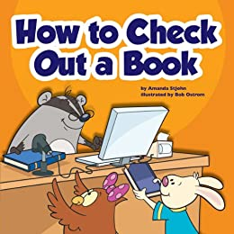 amazon   how to check out a book library skills ebook