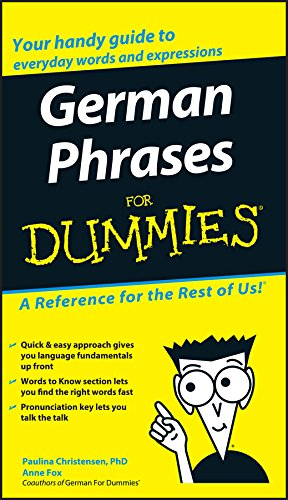 German Phrases For Dummies...