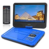 Best Dvd Players - WONNIE 10.5 Inch Portable DVD Player for Kids Review