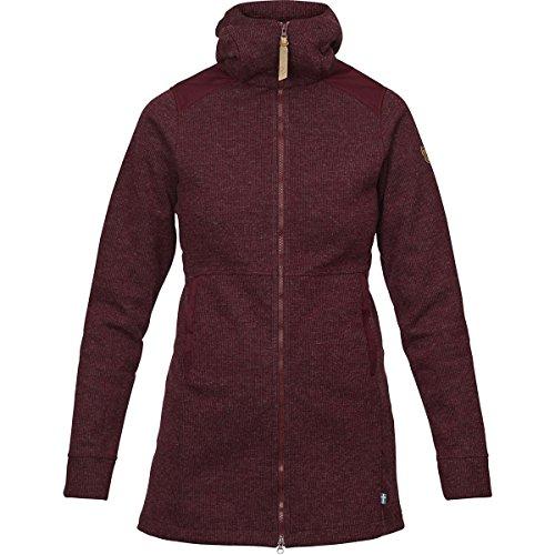 Fjällräven Övik Wool Jacket Women - Fleecemantel Dark Garnet (356)