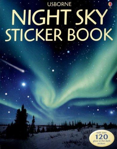 Night Sky Sticker Book [With Stickers] (Usborne Sticker Books) by Sarah Khan (2007-01-31) ()