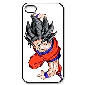 iphone 4s,4 phone case Dragon Ball Z Saga Super Saiyan Goku Hard Case Black 04