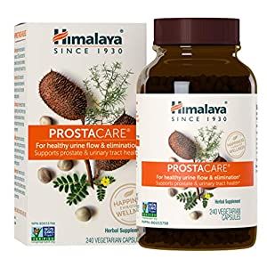 Himalaya ProstaCare with Tribulus and Shatavari for Healthy Urine Flow and Prostate Support, 590 mg, 240 Capsules, 2 Month Supply