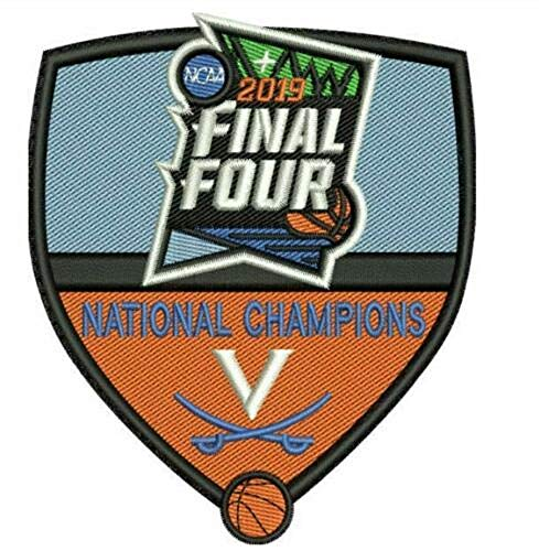 2019 Virginia Cavaliers Patch Final Four Mens Basketball Champions Iron on sew