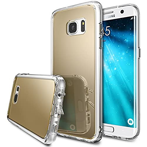 Galaxy S7 Edge Case, Ringke [FUSION MIRROR] Bright Reflection Radiant Luxury Mirror Case [Drop Protection / Shock Absorption Technology] for Sales