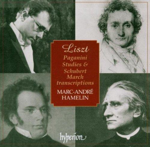 Paganini Studies / Schubert March Transcriptions by Liszt, F. (2002-09-10) ()