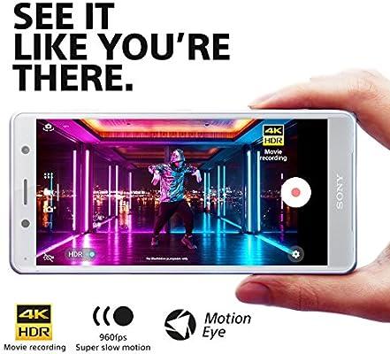 Sony Xperia XZ2 Compact Unlocked Smartphone - 5