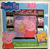 Peppa Pig over 1000 stickers and sticker pad
