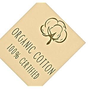 CAOMP Girls' 0 Organic Cotton Leggings for School or Play (11-12, Black)