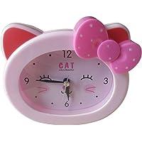 S.W.H Encantadora de Dibujos Animados Cat Snooze Reloj