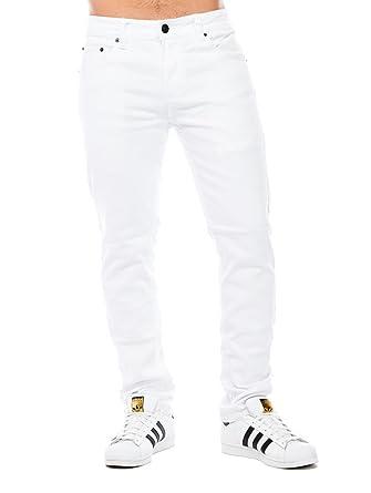 Amazon.com: Victorious DL-937 Pantalones vaqueros ajustados ...