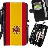 STPlus Spain Spanish Flag Wallet Card Ho